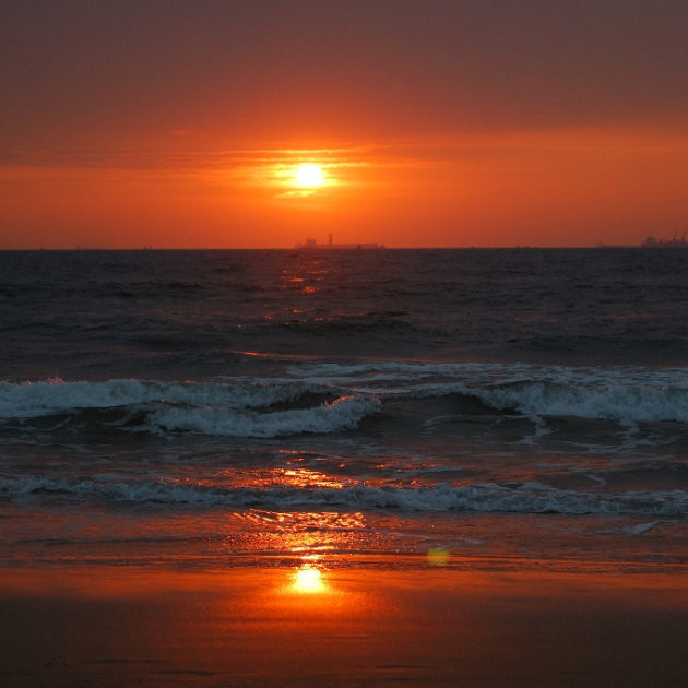 Candolim Beach Goa_Sunset