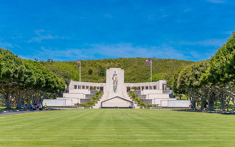 USA- National Memorial Cemetery of the Pacific